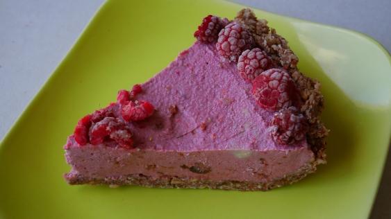 Cheesecake sans cuisson à la framboise (27)