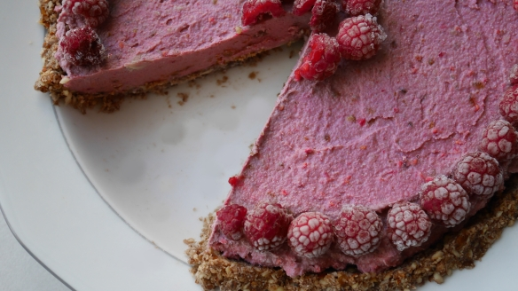 Cheesecake sans cuisson à la framboise (34)