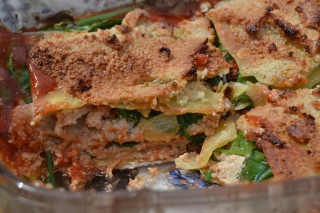 Lasagnes ricotta épinards (7)