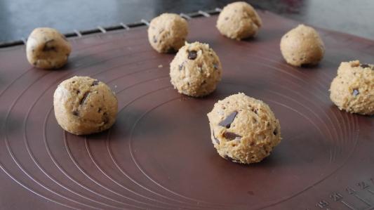 Cookies moelleux sans farine au beurre de cacahuète (17)