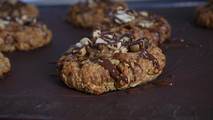 Cookies façon snickers (1)